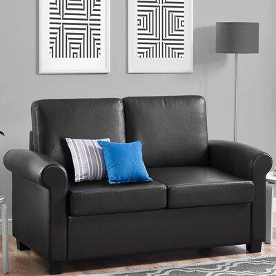 Ebern Designs Ahumada Twin Sleeper Sofa Bed Loveseat | Wayfair