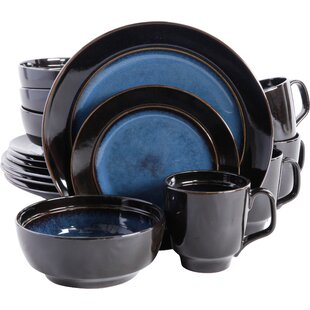 Save  sc 1 st  Wayfair & Blue Stoneware Dinnerware Sets Youu0027ll Love | Wayfair