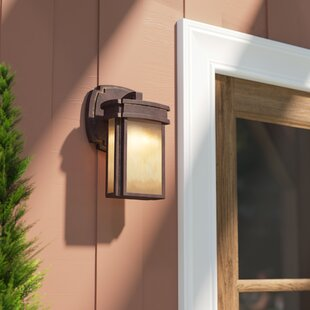 Read Reviews Carriage Club 1-Light Outdoor Sconce By Loon Peak