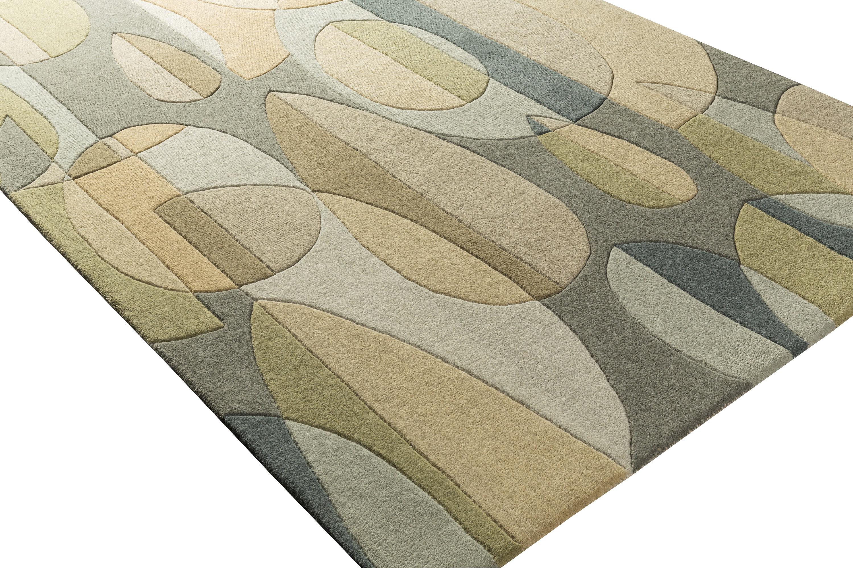 Ebern Designs Dewald Geometric Handmade
