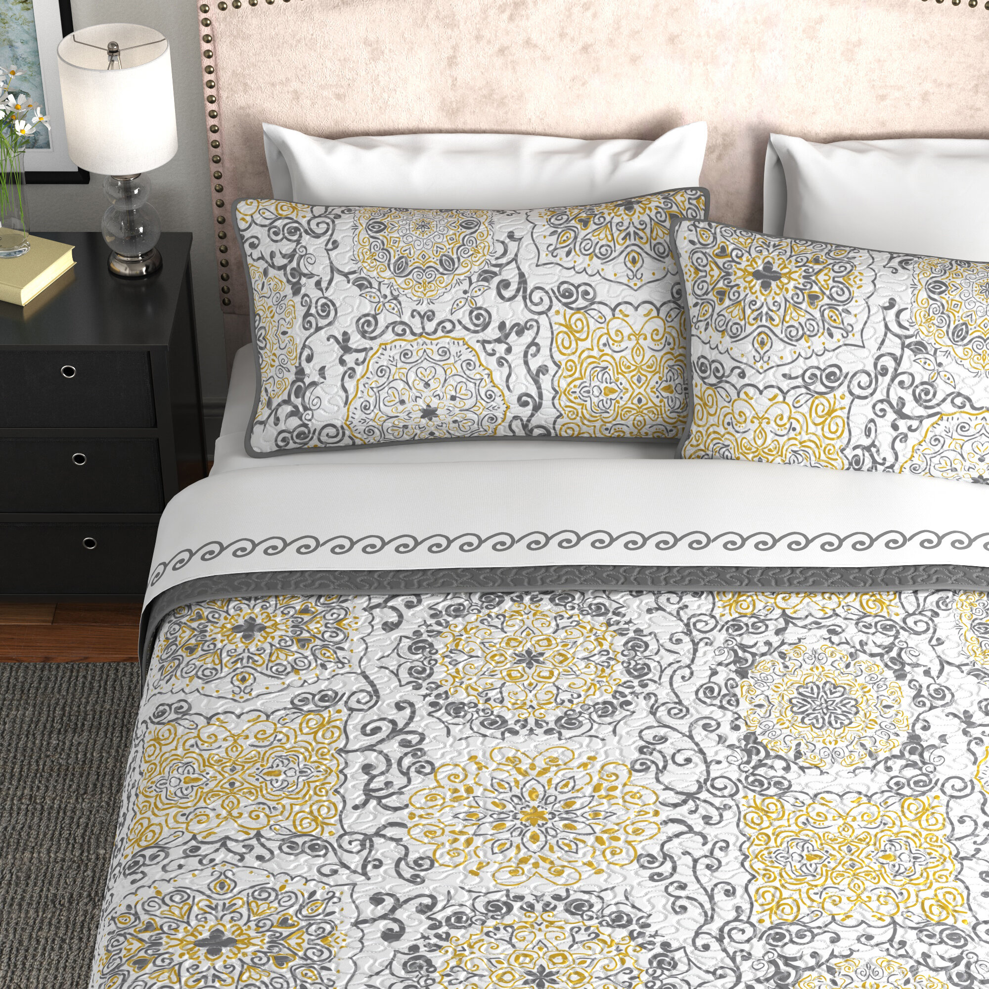 Yellow Gold Bedding You Ll Love In 2021 Wayfair