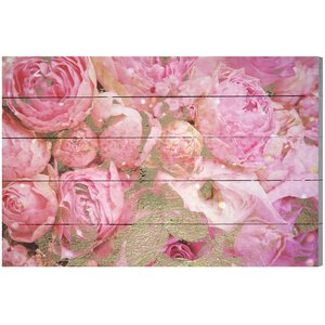 Roses Graphic Art Plaque by House of Hampton