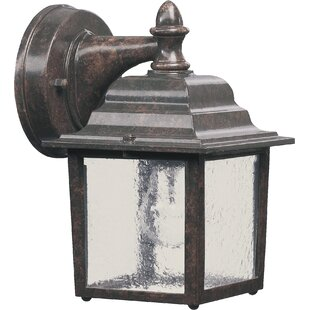 Reviews Dunwich 1-Light Outdoor Wall Lantern By Charlton Home