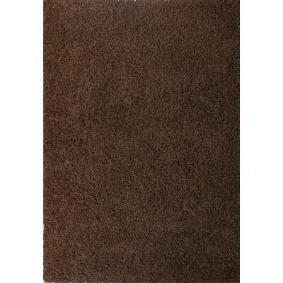 Shaggy Rug Shaggy Long Pile High Quality High Thread Density Plain Shimmer Taupe