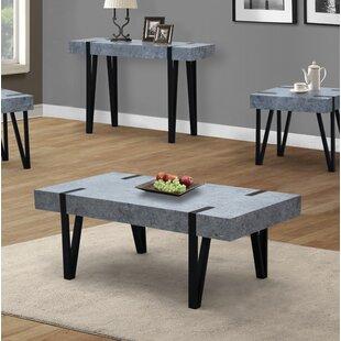 Burdine Concrete Coffee Table