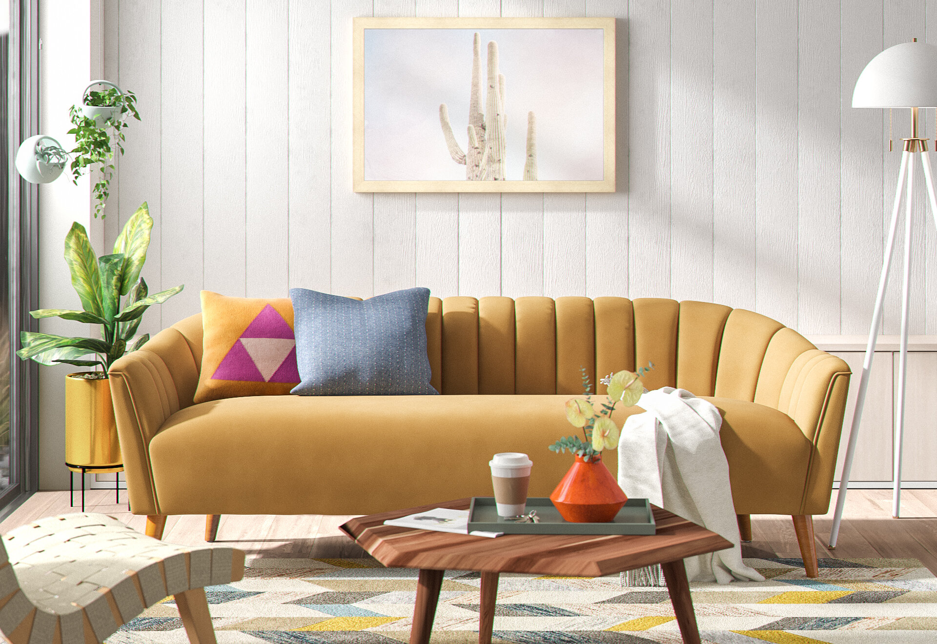 Mid-Century Modern Living Room Ideas | AllModern