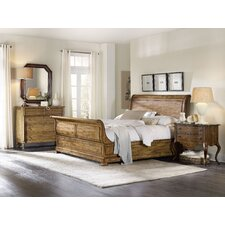 Archivist Sleigh Customizable Bedroom Set by Hooker Furniture