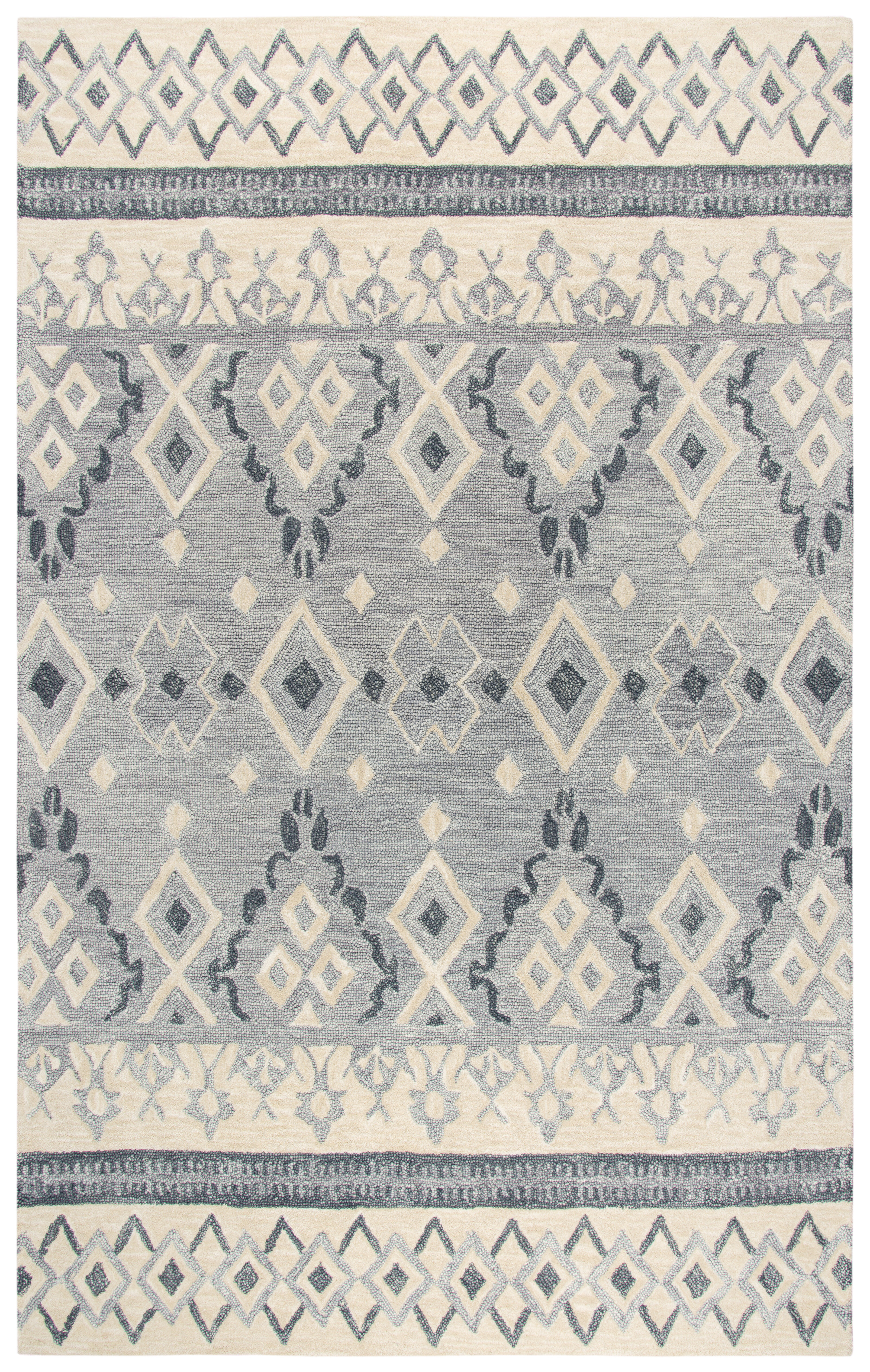 Gladstone Hand Tufted Natural Wool Area Rug Reviews
