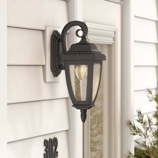 Great Price Boise 1-Light Outdoor Wall Lantern By Alcott Hill