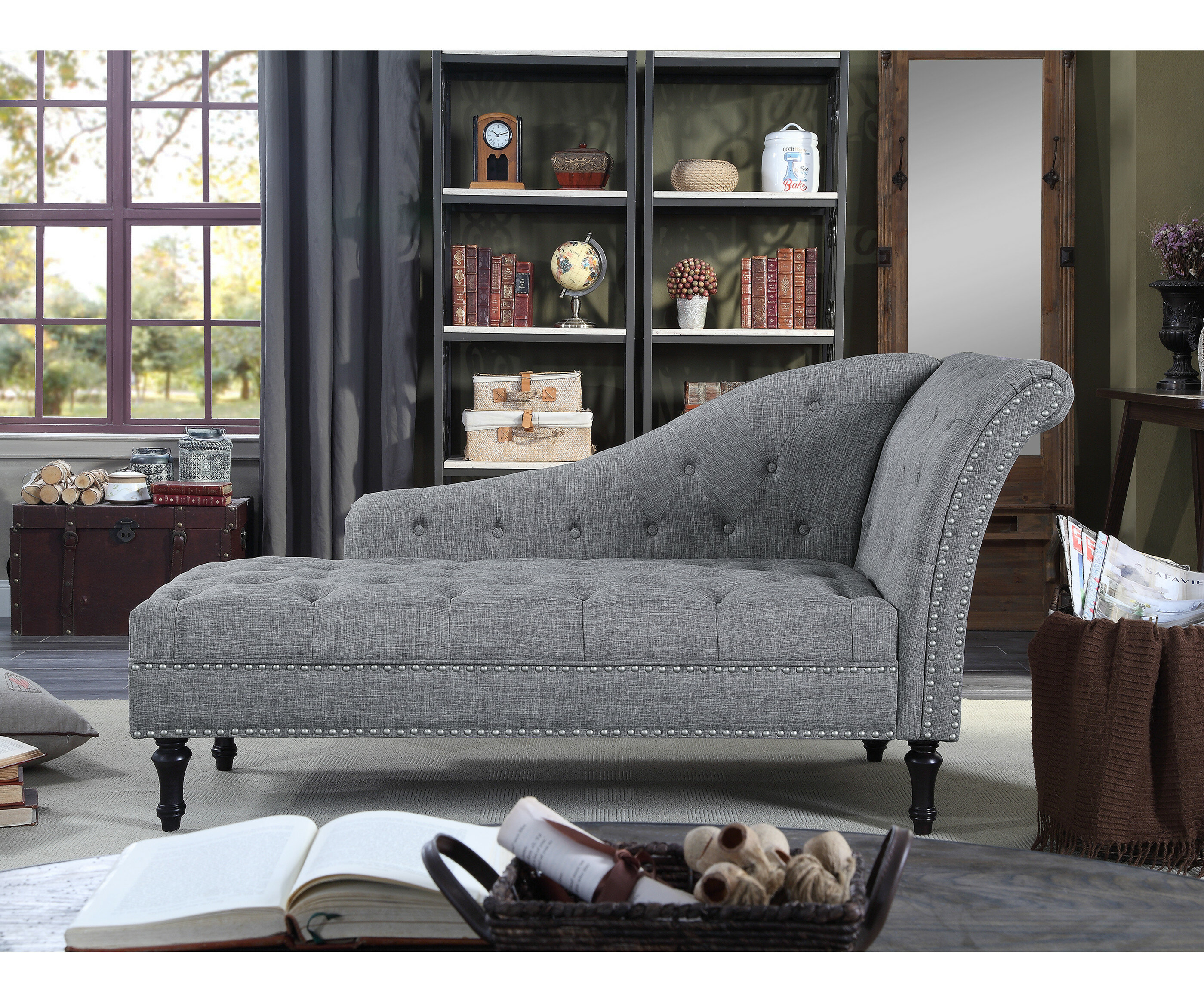 - Darby Home Co Deedee Chaise Lounge & Reviews Wayfair