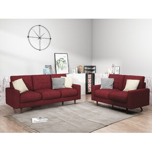 Carnlea 2 Piece Standard  Living Room Set by Brayden Studio®