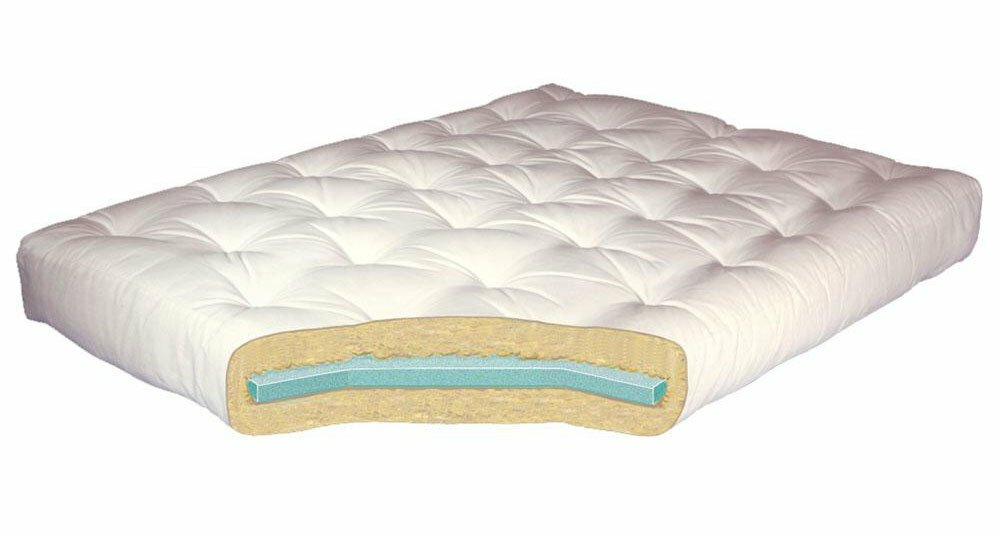 8   foam  u0026 cotton futon mattress gold bond 8   foam  u0026 cotton futon mattress  u0026 reviews   wayfair  rh   wayfair