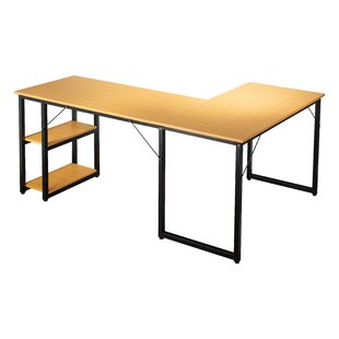 Compare & Buy Gatun Office L-Shaped Writing Desk By Symple Stuff