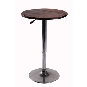 Height Adjustable Pub Table with Stand by Vogue Furniture Direct