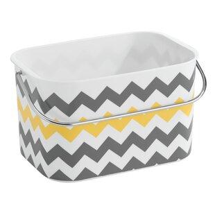 Obray Bathroom Tote Basket With Handle