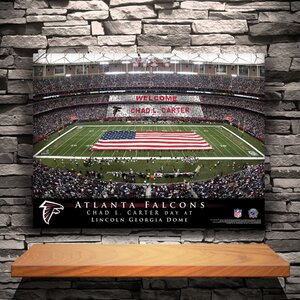 Personalized Stadium Photographic Print on Canvas by JDS Personalized Gifts