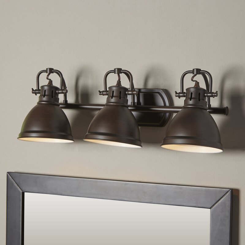 Beachcrest home bodalla 3 light vanity light reviews wayfair bodalla 3 light vanity light mozeypictures Image collections