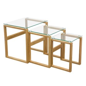 Cascade 3 Piece Nesting Tables by Diamond Sofa