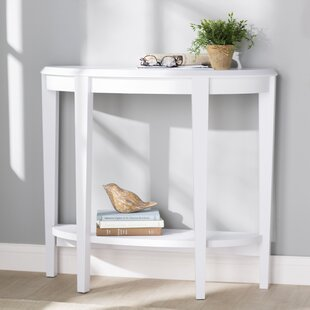 Magnificent Solid White Console Tables Youll Love Wayfair Bralicious Painted Fabric Chair Ideas Braliciousco