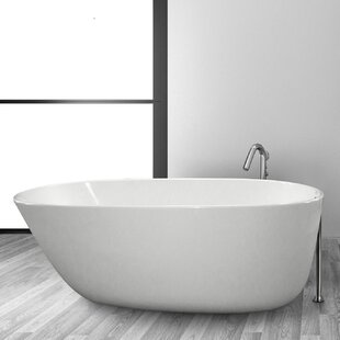 Find Daniela 58 x 30 Freestanding Soaking Bathtub By Hydro Systems