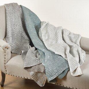 Hiran Knitted Design Cotton Throw