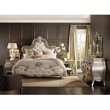 Sanctuary California King Upholstered Panel Customizable Bedroom Set by Hooker Furniture