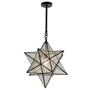 Star pendant light wayfair azalea star 1 light pendant aloadofball Choice Image
