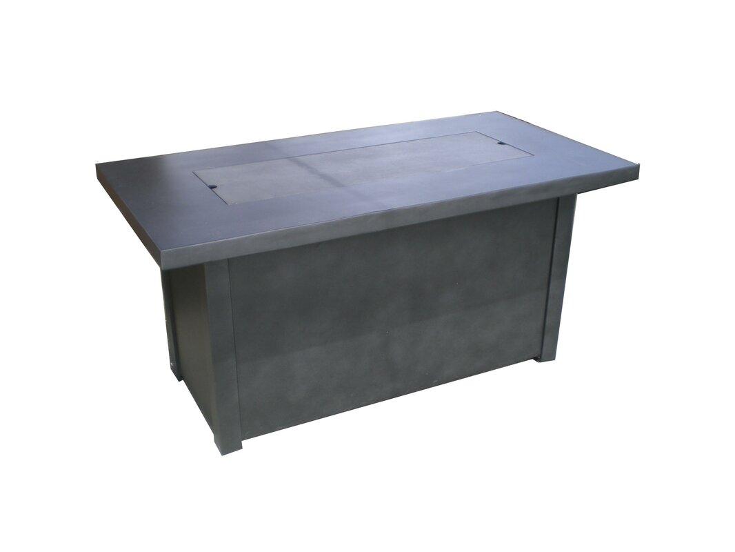 Torch Concrete Propane Fire Pit Table