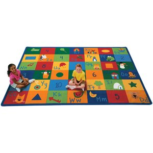 Emerado Learning Blocks Area Rug