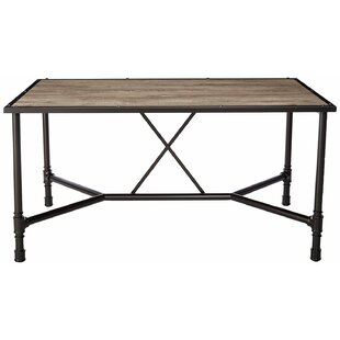 Check Prices Croll Industrial Dining Table By17 Stories