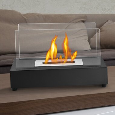 Ignis Tower Ventless Bio Ethanol Tabletop Fireplace Reviews Wayfair