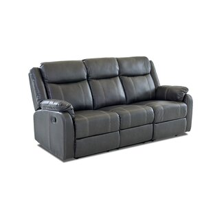 Rockville Reclining Sofa Red Barrel Studio