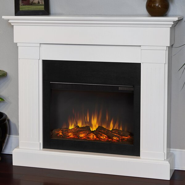 Slim Wall Mount Electric Fireplace Part - 37: Wall Mount Electric Fire Place | Wayfair