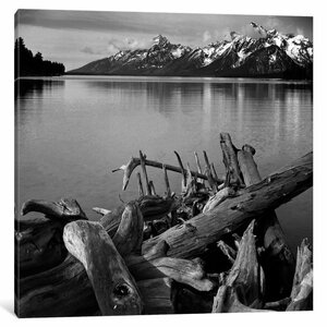 Captionless Photographic by Ansel Adams Print on Wrapped Canvas by Loon Peak