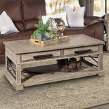 Stephengould Sled Coffee Table with Storage by Rosalind Wheeler