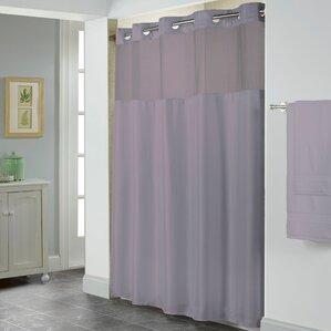 purple and gray shower curtain. Herringbone Shower Curtain Purple Curtains You ll Love  Wayfair
