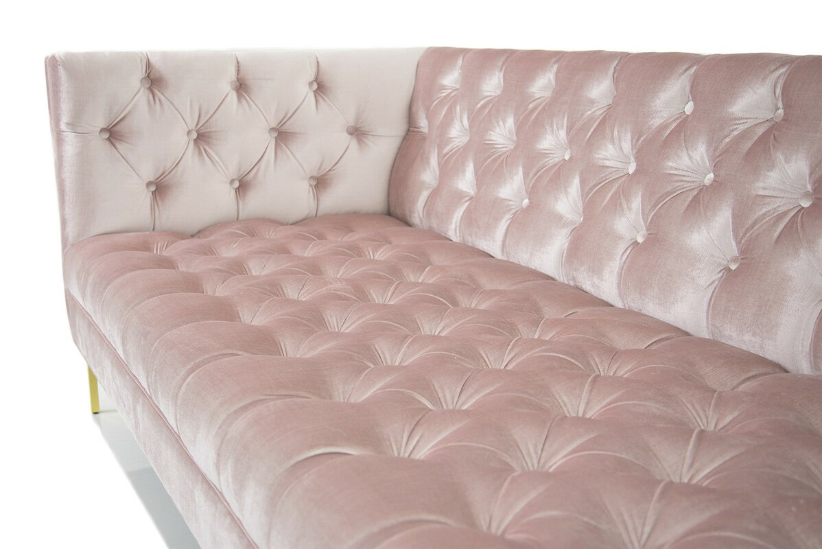 pink chesterfield sofa pink chesterfield style sofa city furniture hire thesofa. Black Bedroom Furniture Sets. Home Design Ideas