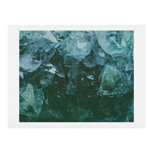 Aquamarine Gemstone Photographic Print by East Urban Home