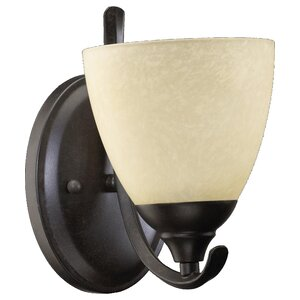 Powell 1-Light Armed Sconce