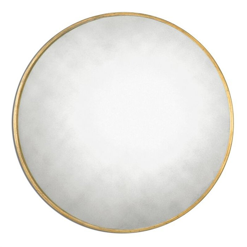 Katsikis Round Accent Wall Mirror