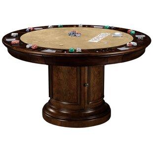 Bargain 54 Ithaca Poker Game Table ByHoward Miller®