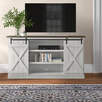 Foundry Select Arsenault Tv Stand For Tvs Up To 78 Reviews Wayfair