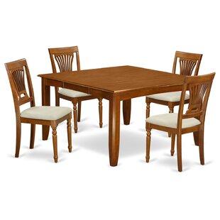 Parfait 5 Piece Dining Set ByWooden Importers
