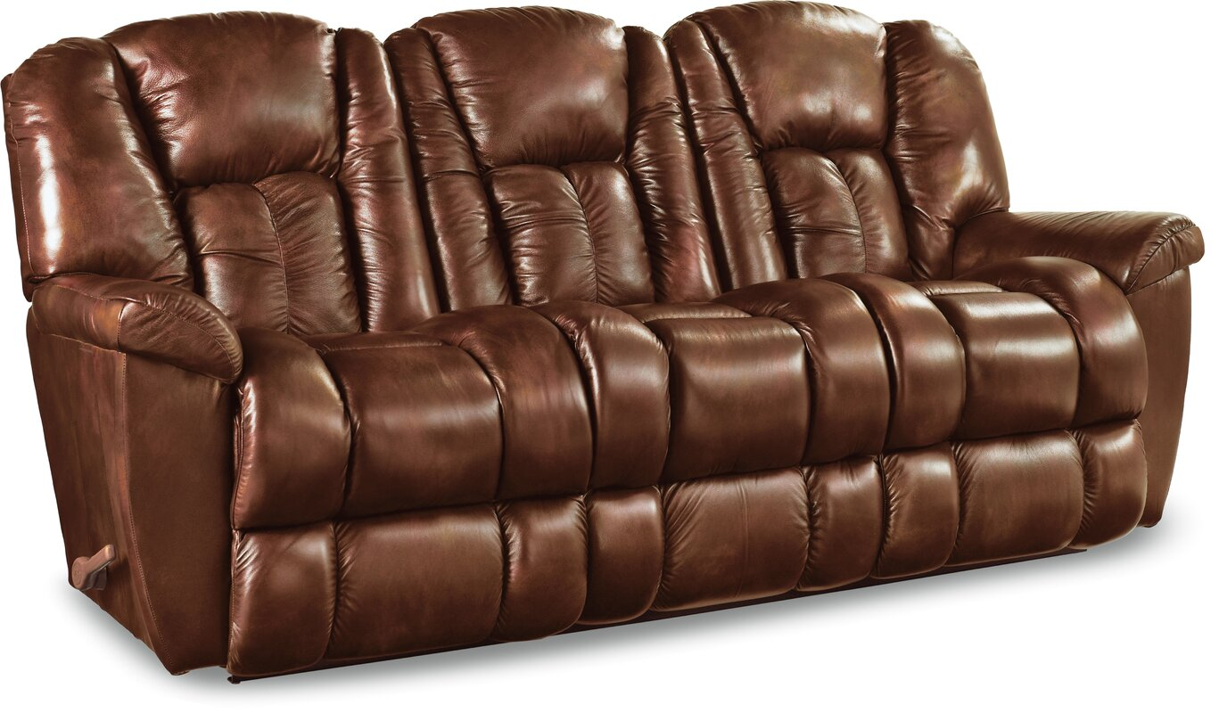 Charmant Maverick Leather Reclining Sofa