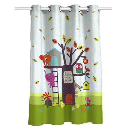 Wooten Eyelet Semi Sheer Thermal Curtain Isabelle and Max