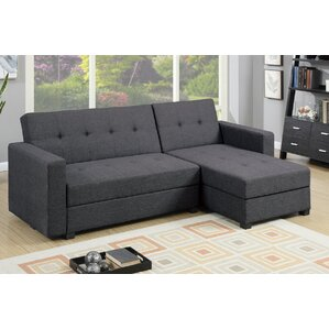 Danos Reversible Sleeper Sectional  sc 1 st  Wayfair.com : brown sofa with chaise - Sectionals, Sofas & Couches