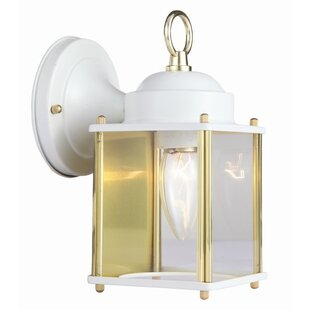 Compare prices Coach 1-Light Outdoor Wall Lantern By Design House