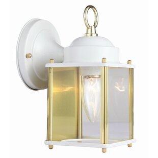 Coach 1-Light Outdoor Wall Lantern By Design House Outdoor Lighting