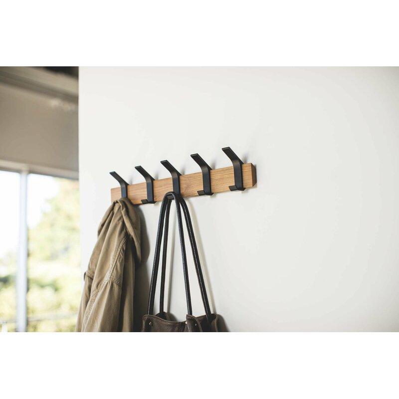 Yamazaki USA Rin Wall Mounted Coat Rack | Wayfair