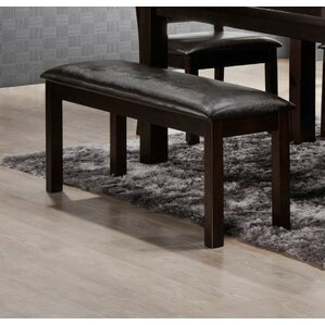 Faux Leather Bench by LYKE Home